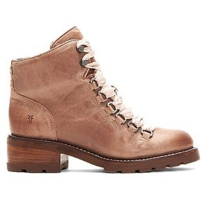 Frye Alta Hiker Laced Dusty Rose Boot